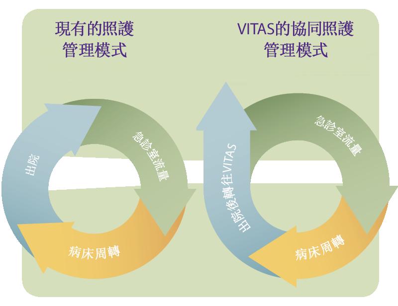 VITAS如何打破目前療護的惡性循環 - VITAS協助責任制療護機構